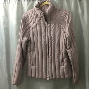 Donatova Lavender Down Jacket, quilted Large